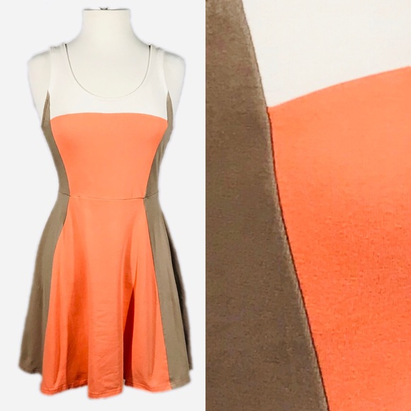 Express Dresses & Skirts - EUC Express Colorblock Mini Dress